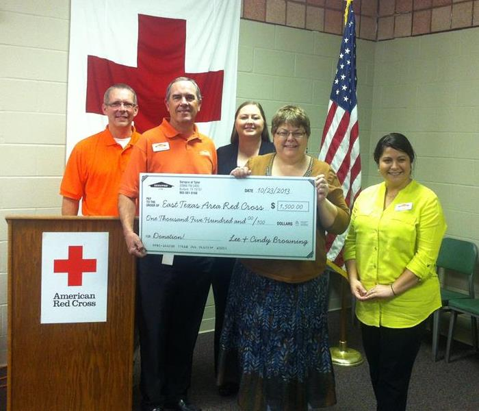 Red Cross Check Presentation
