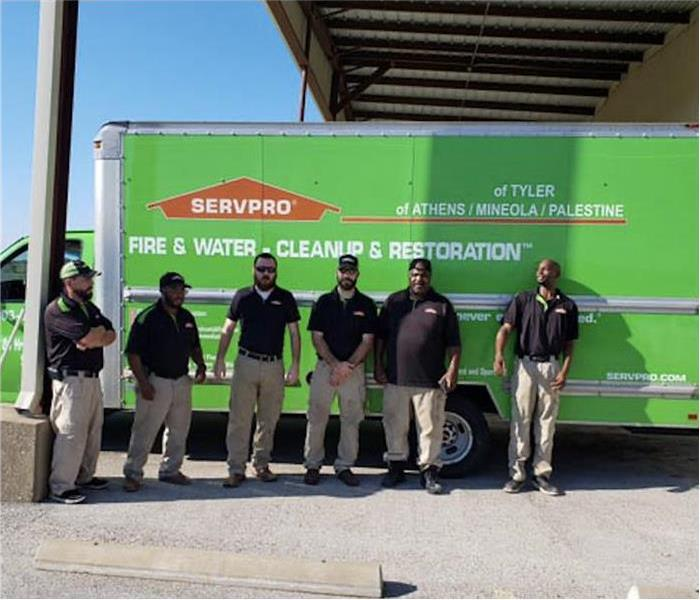 Servpro of Tylers technician, team picture