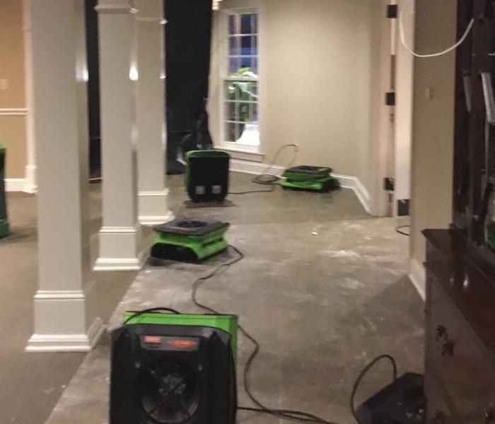 Water Damage How to remove water from a home after flooding in Tyler, Texas?